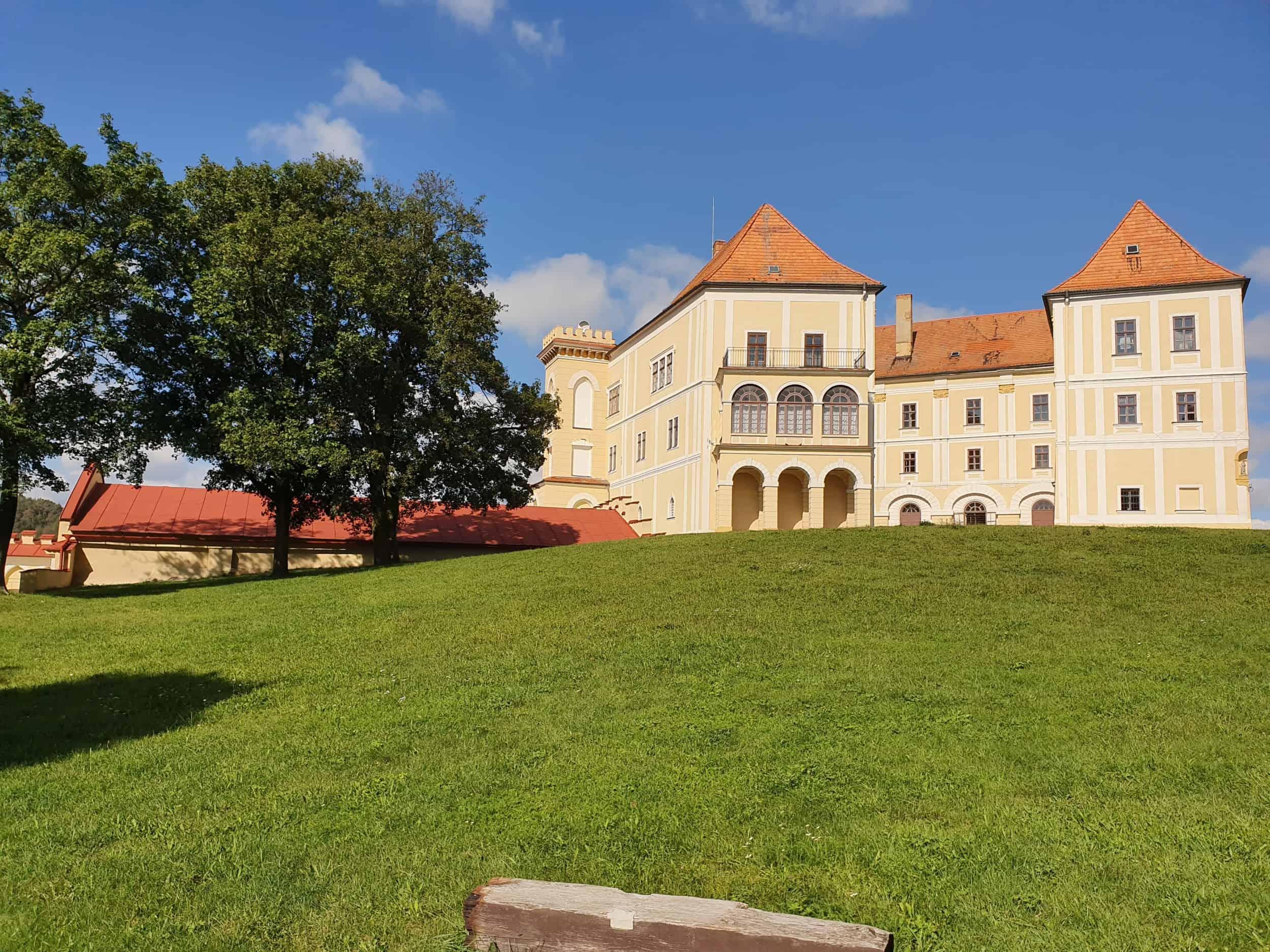 Zámek Letovice a malí návštěvníci